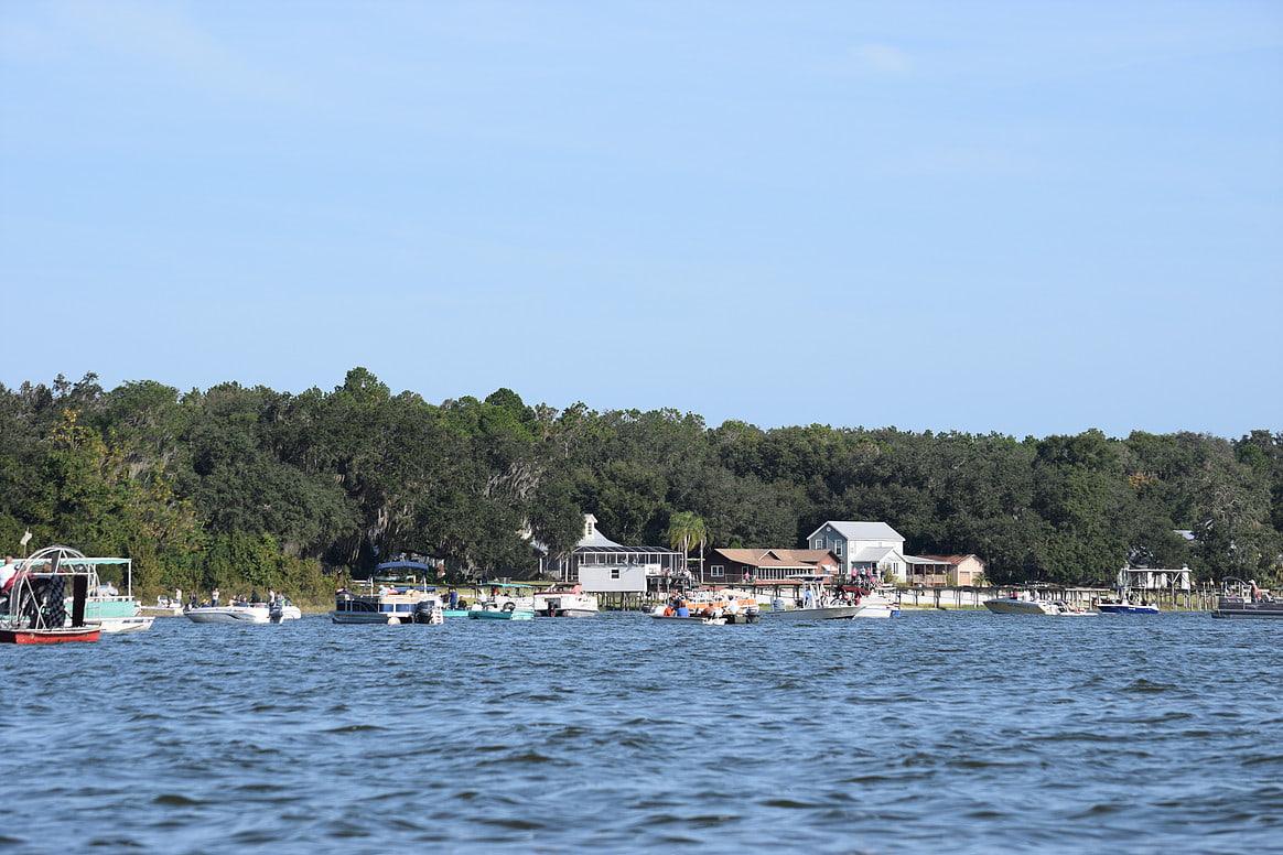 Floating Ma Barker House Transition Watersports Ocklawaha Florida